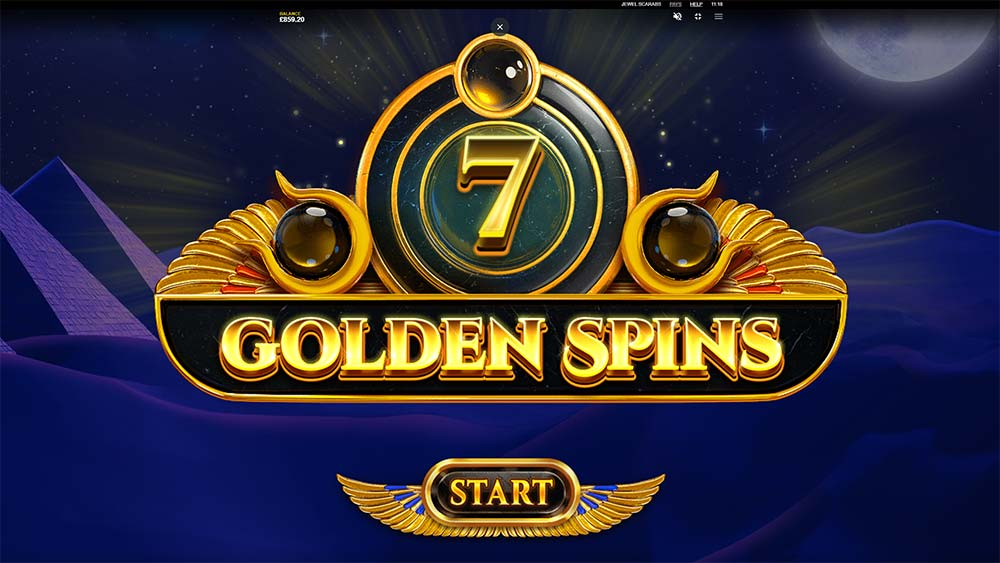 Jewel Scarabs Slot - Free Spins