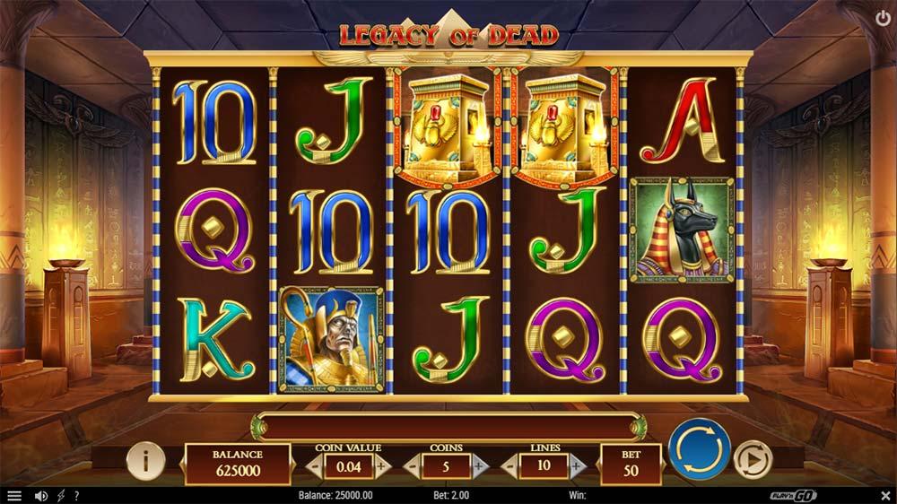 Legacy of Dead Slot - Base Game