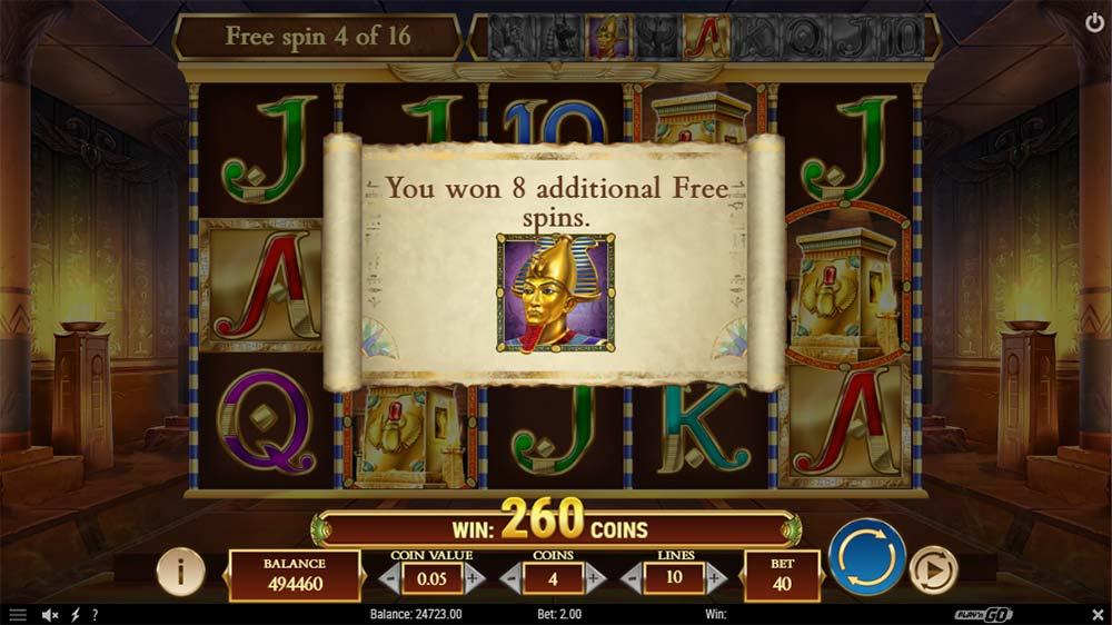 Legacy of Dead Slot - Bonus Re-Trigger