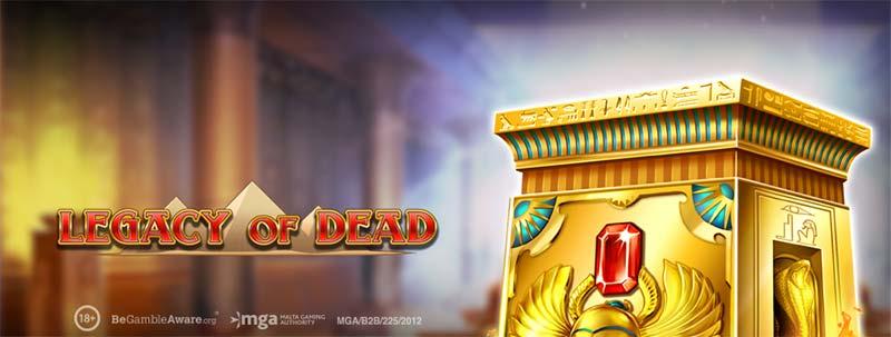 Legacy of Dead Slot Logo