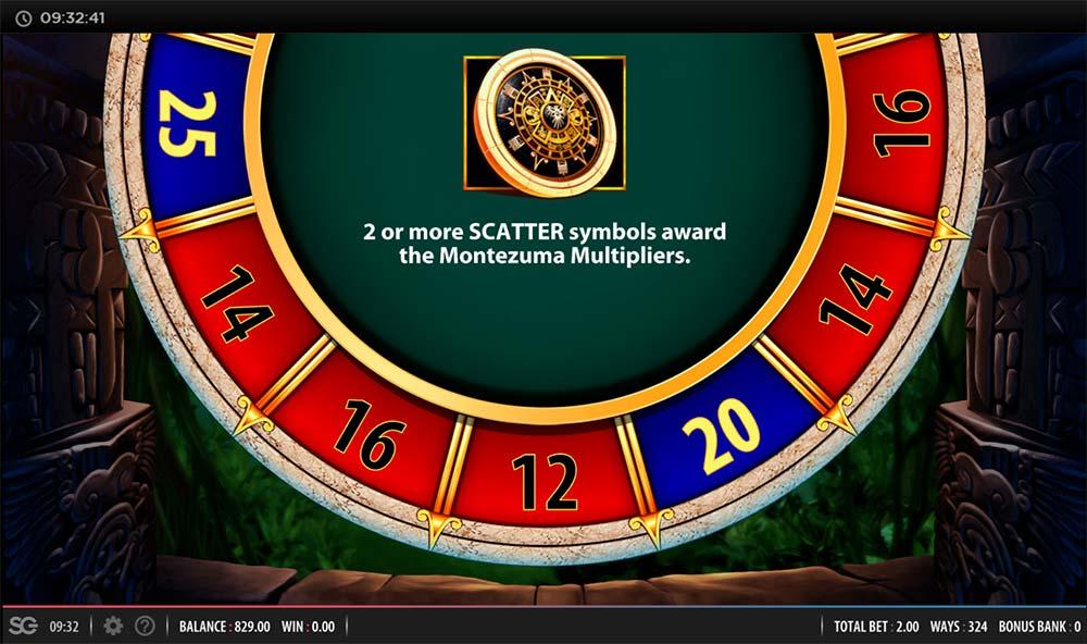 Montezuma Megaways Slot - Free Spins Wheel