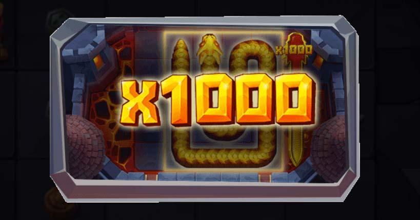 1000x Stake Win - Snake Arena
