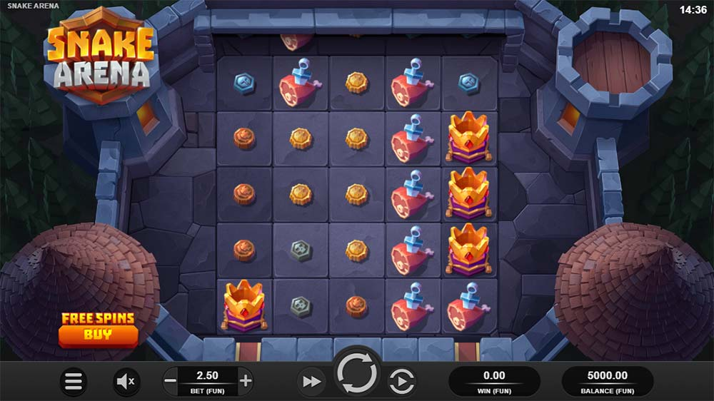 Snake Arena Slot - Base Game