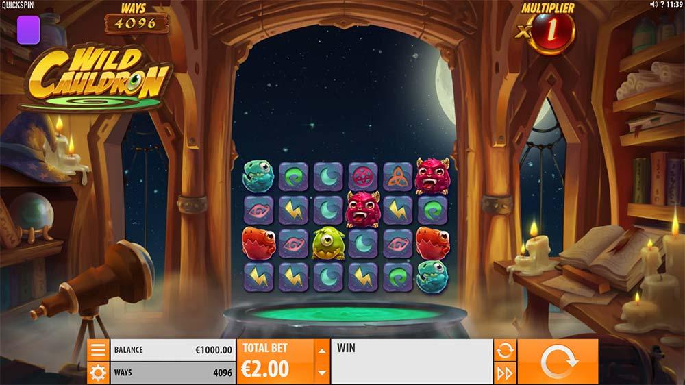 Wild Cauldron Slot - Base Game