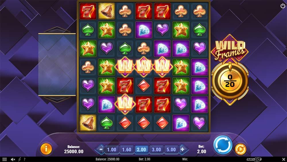 Wild Frames Slot - Base Game