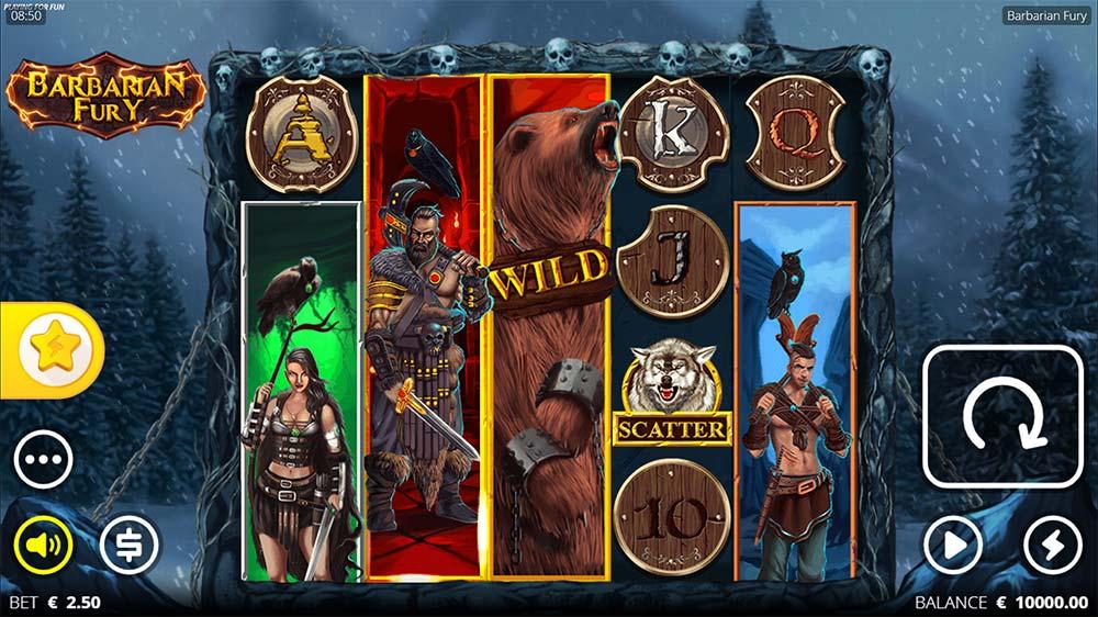 Barbarian Fury Slot - Base Game
