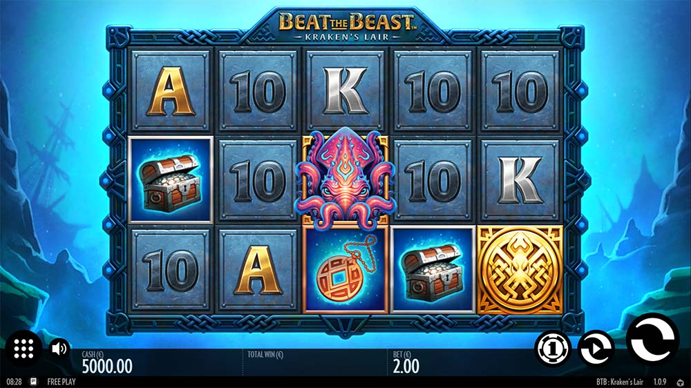 Kraken's Lair Slot - Base Game
