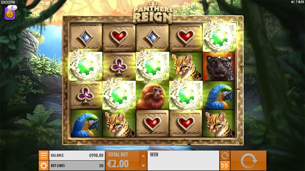 Panther's Reign Slot - Bonus Trigger