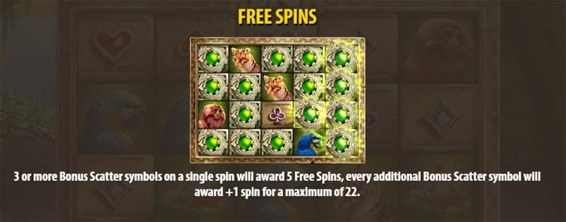 Panther's Reign Slot - Free Spin Info