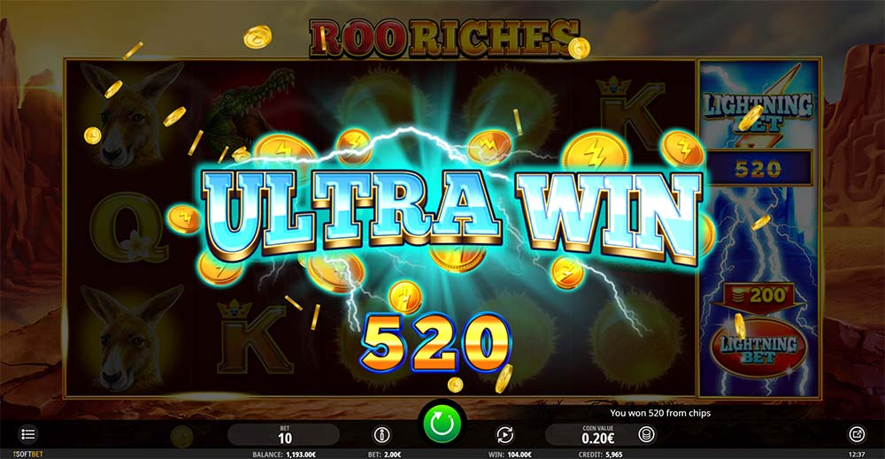 Roo Riches Slot - Ultra Win