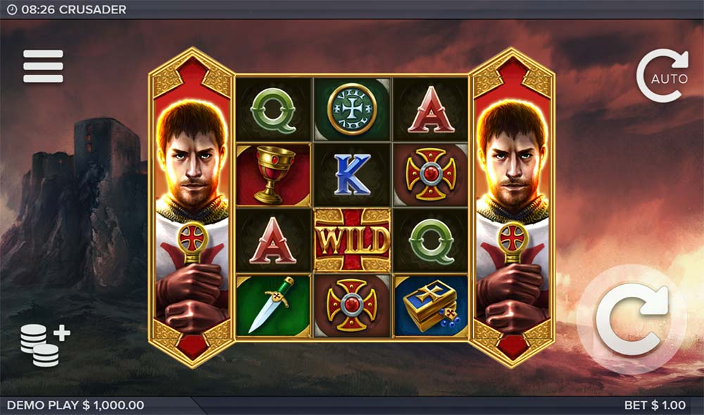 Crusader Slot - Base Game