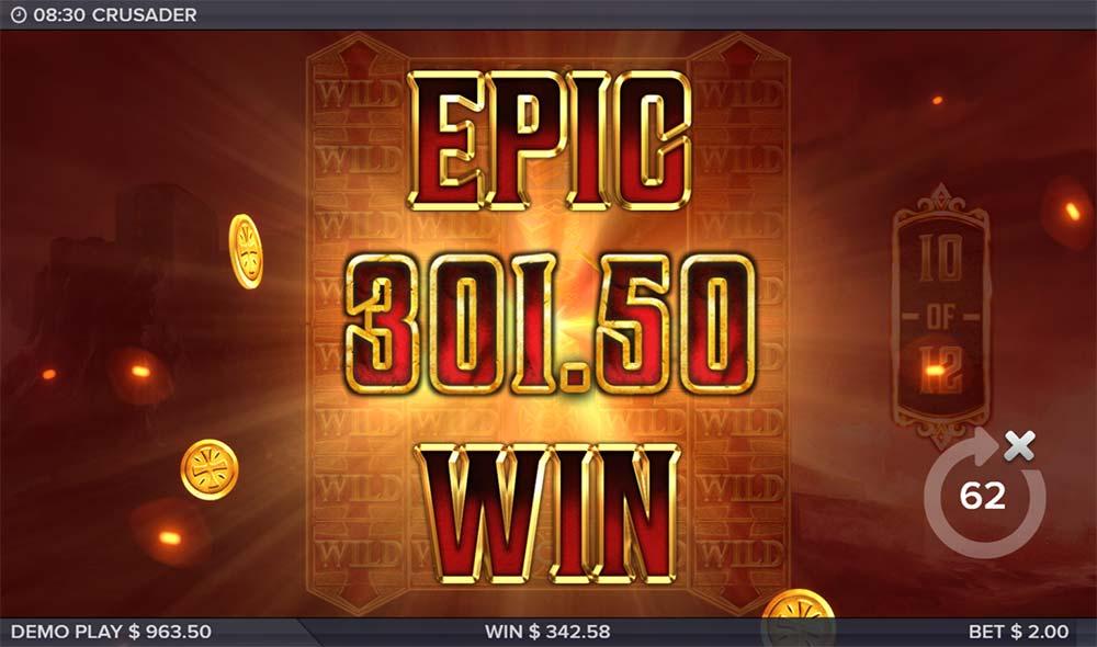 Crusader Slot - Epic Win