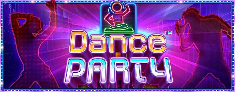 Dance Party Slot Logo