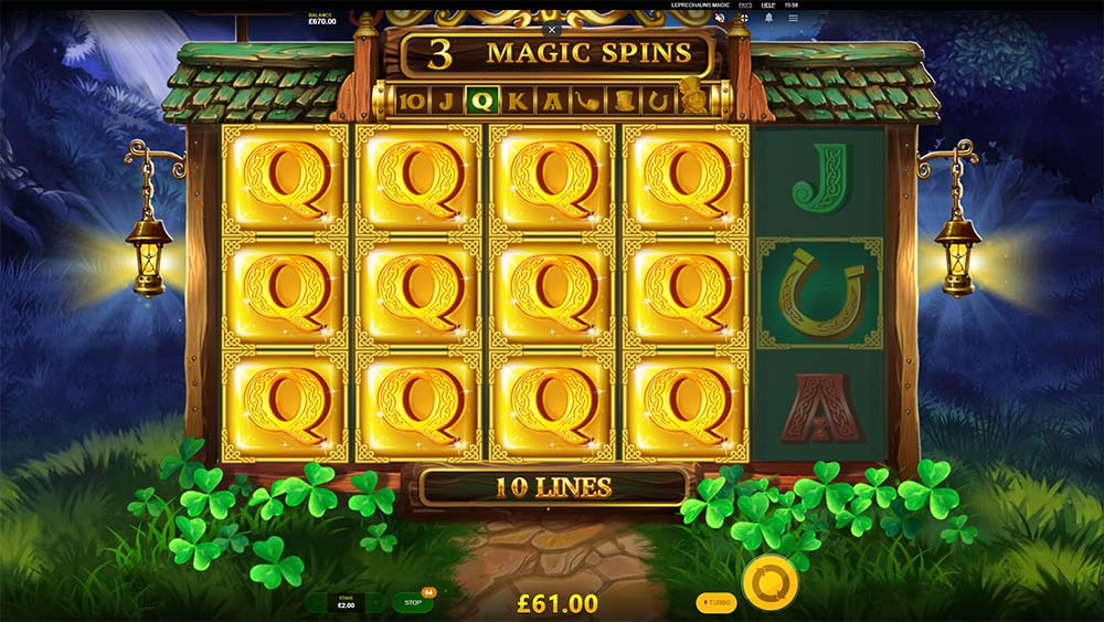 Leprechaun's Magic Slot - Expanding Queens