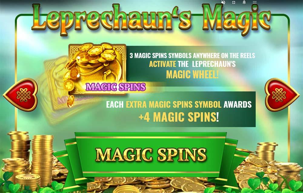 Leprechaun's Magic Slot - Magic Spins