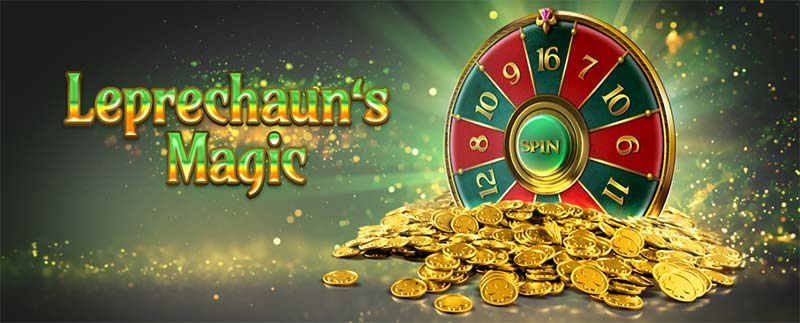 Leprechaun's Magic Slot Logo