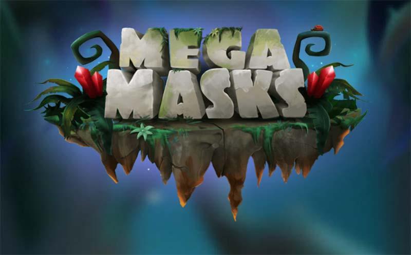 Mega Masks Slot Logo