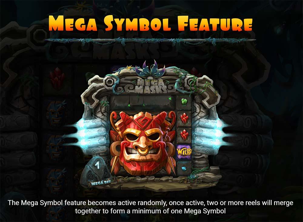 Mega Masks Slot - Mega Symbol
