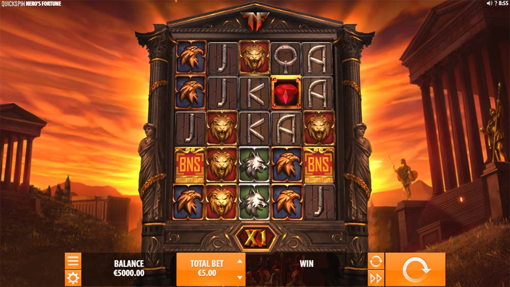 Nero's Fortune Slot - Base Game