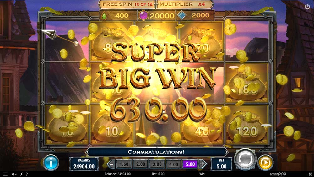 Riches of Robin Slot - Super Big Win