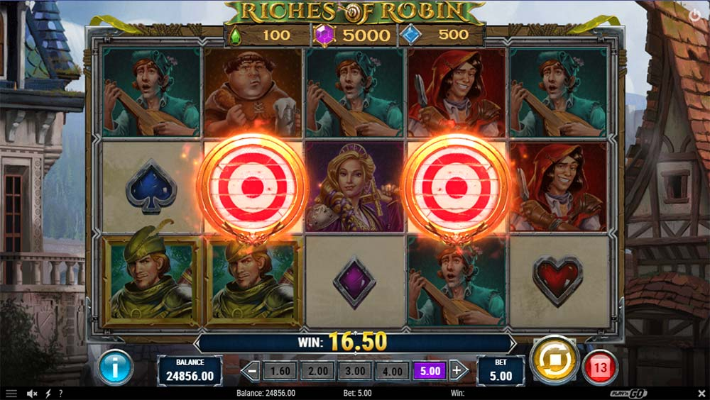 Riches of Robin Slot - Bonus Trigger