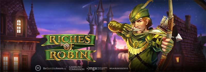 Riches of Robin Slot Logo