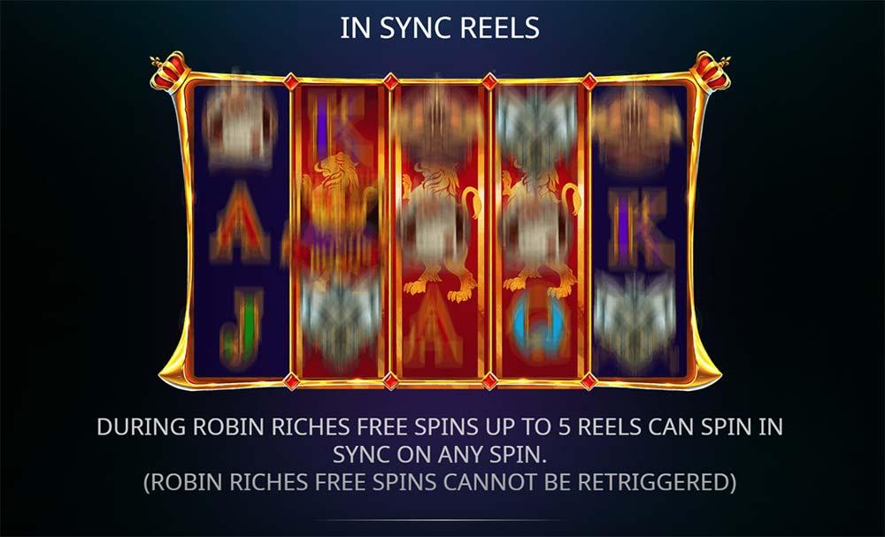 Sheriff of Nottingham Slot - Synced Reels
