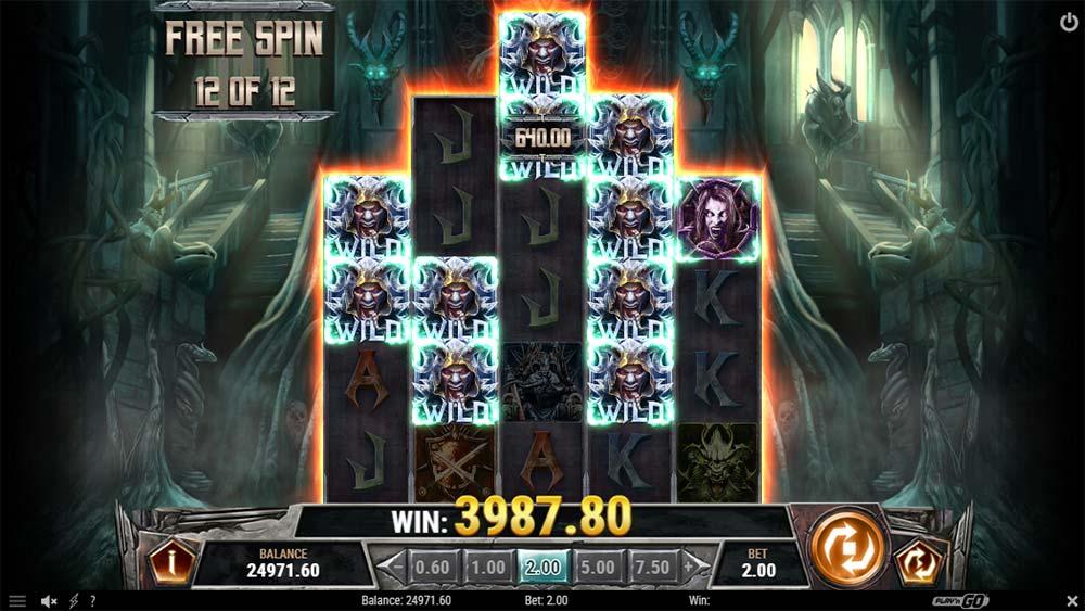 Testament Slot - Frozen Wilds in Free Spins