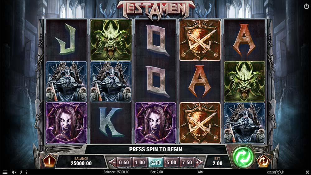 Testament Slot - Base Game