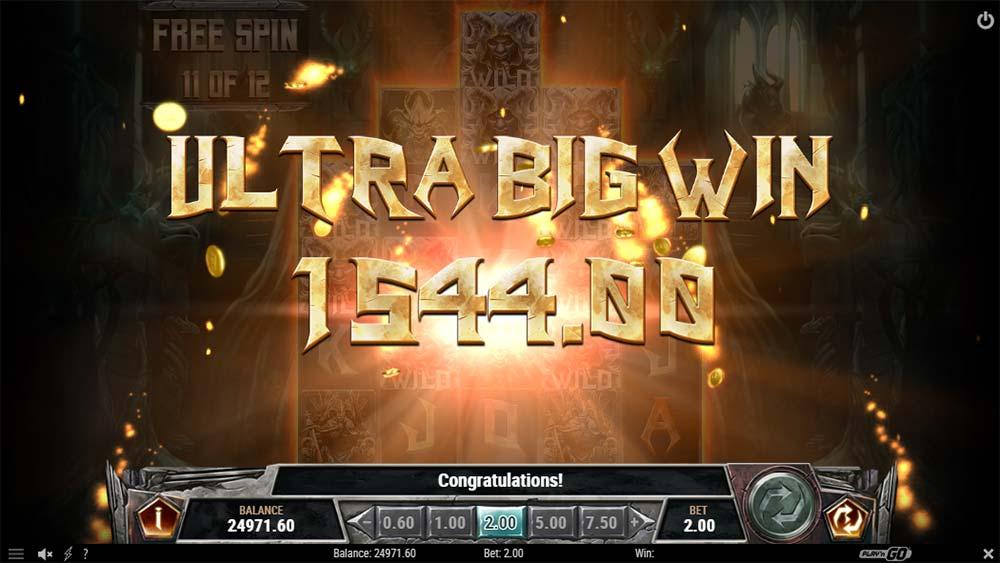 Testament Slot - Ultra Big Win
