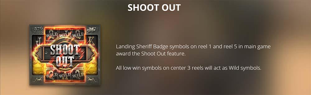 Deadwood Slot - Shoot Out