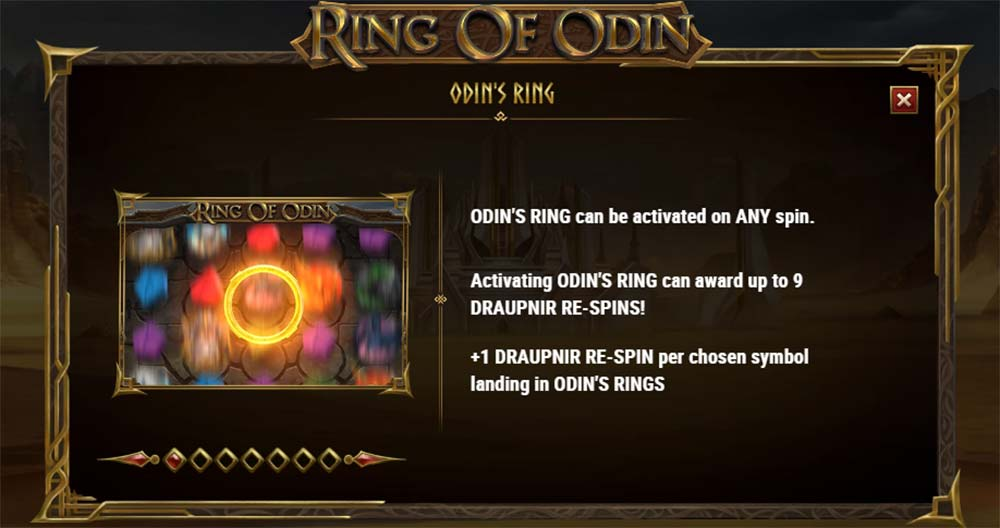 Ring of Odin Slot - Odin's Ring