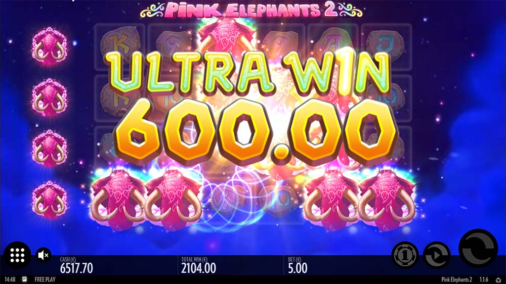 Pink Elephants 2 Slot - Ultra Win