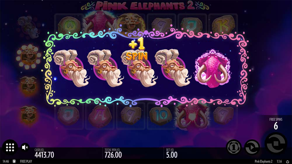 Pink Elephants 2 Slot - Symbol Upgrade
