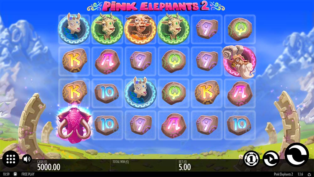Pink Elephants 2 Slot - Base Game