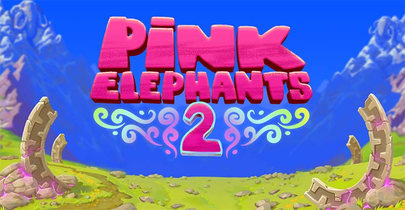 Pink Elephants 2 Slot Logo