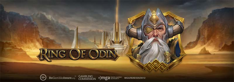 Ring of Odin Slot Logo