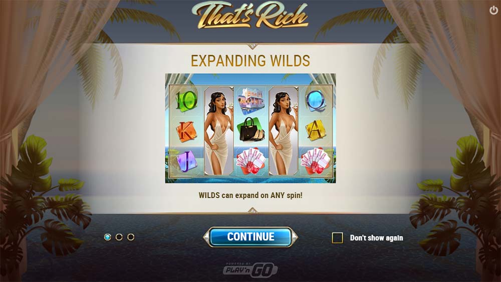 That's Rich Slot - Intro Screen