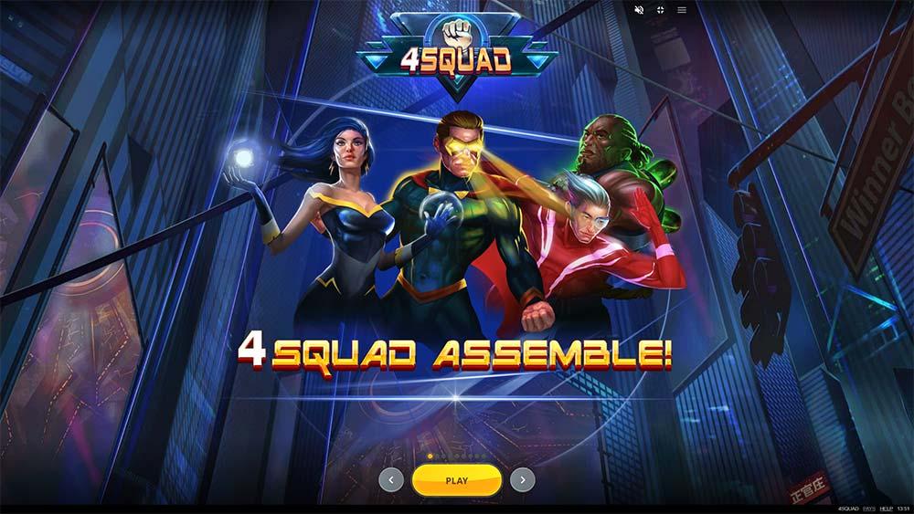 4 Squad Slot - Intro Screen