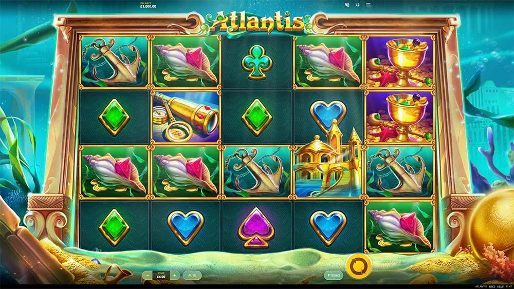 Atlantis Slot - Base Game