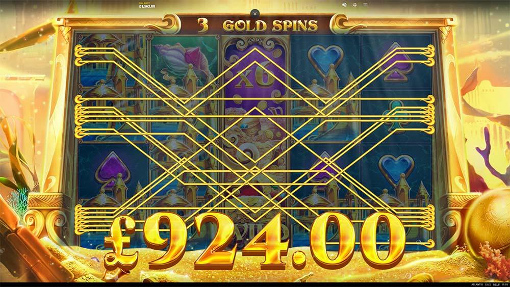 Atlantis Slot - Bonus End