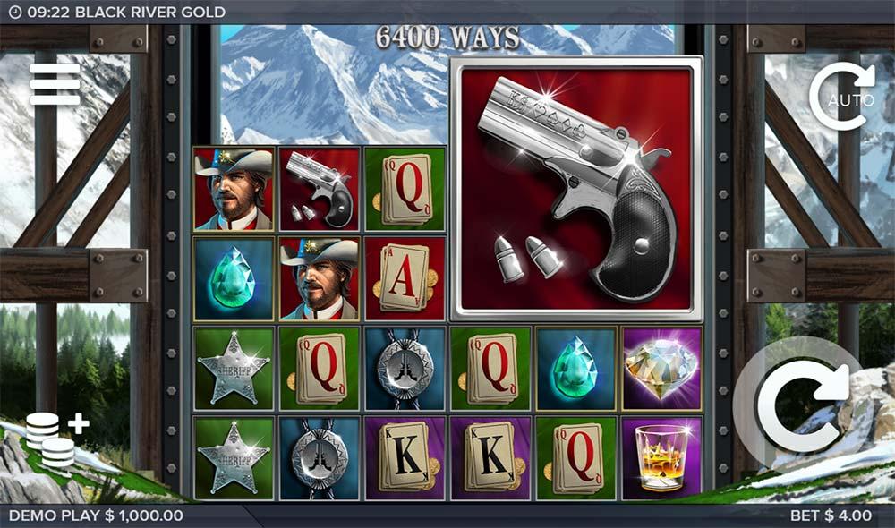 Black River Gold Slot - Base Game