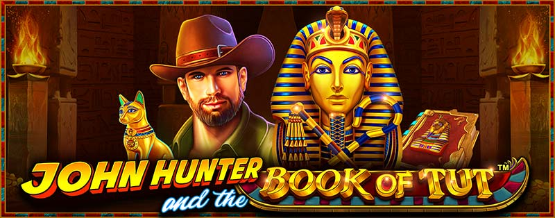 Book of Tut Slot Logo