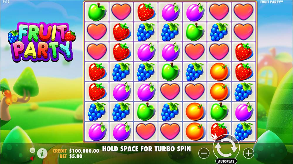 Fruit Party Slot - Base Game