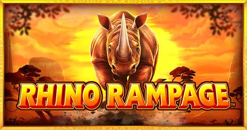 Rhino Rampage Slot Logo
