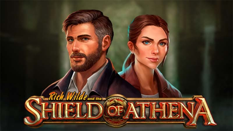 Rich Wilde and the Shield of Athena Slot Logo