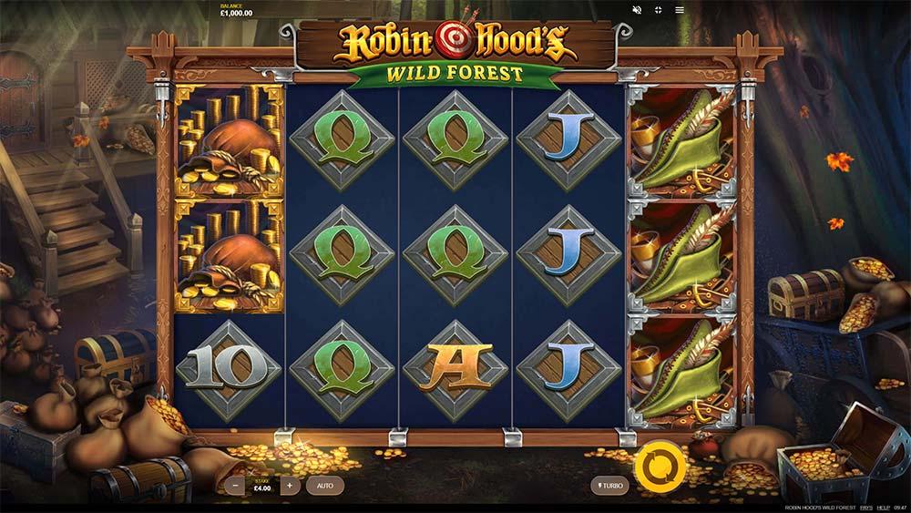Robin Hoods Wild Forest Slot - Base Game
