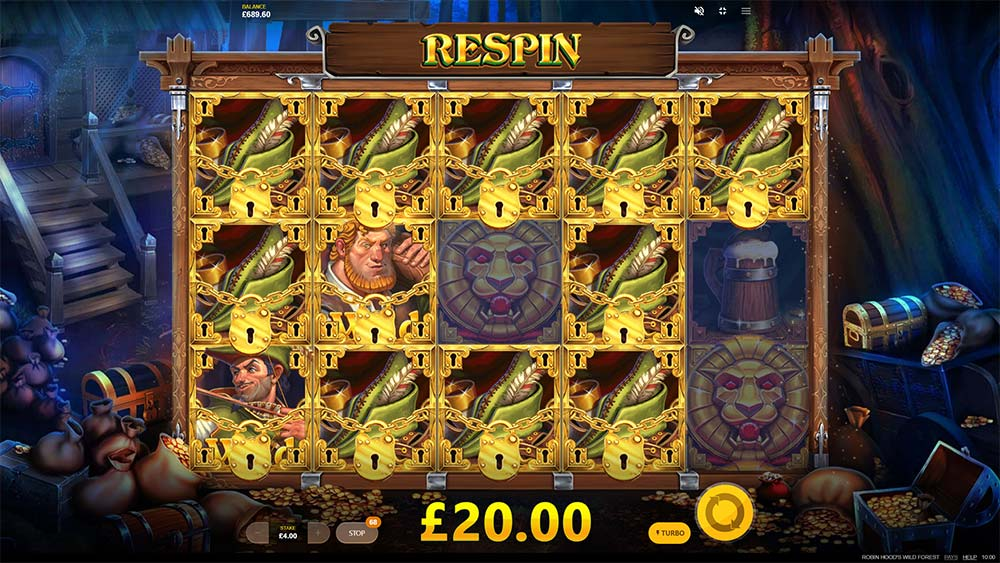Robin Hoods Wild Forest Slot - Respins