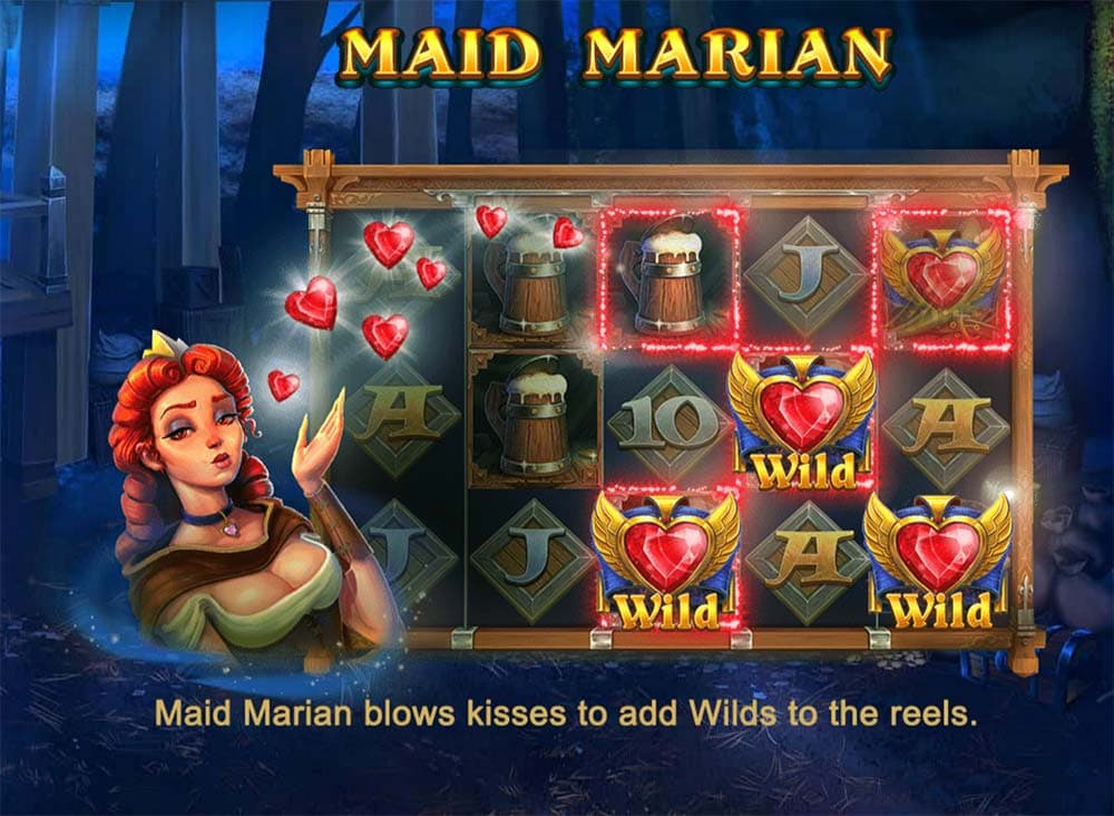 Robin Hoods Wild Forest Slot - Maid Marian Feature
