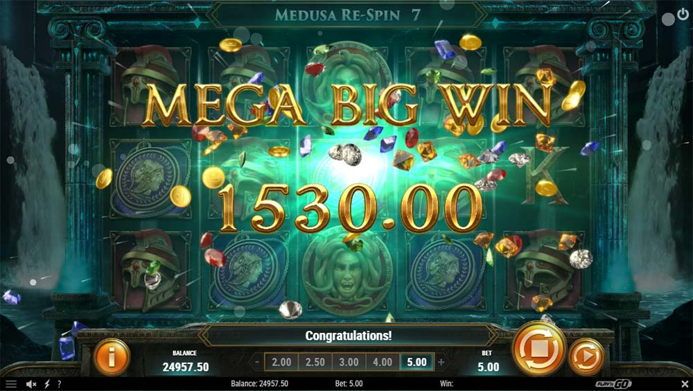 Shield of Athena Slot - Mega Big Win